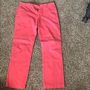 MENS vineyard vines Jetty Red Breaker Pants